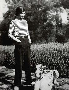 Modeschöpferin Coco Chanel, 1928