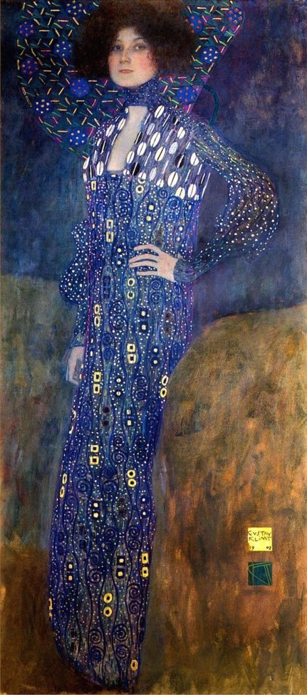Modedesignerin Emilie Flöge, 1902